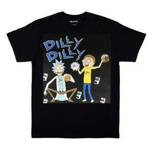 Rick and Morty Dilly Dilly T Shirt 2X, 3X, 4X, 5X